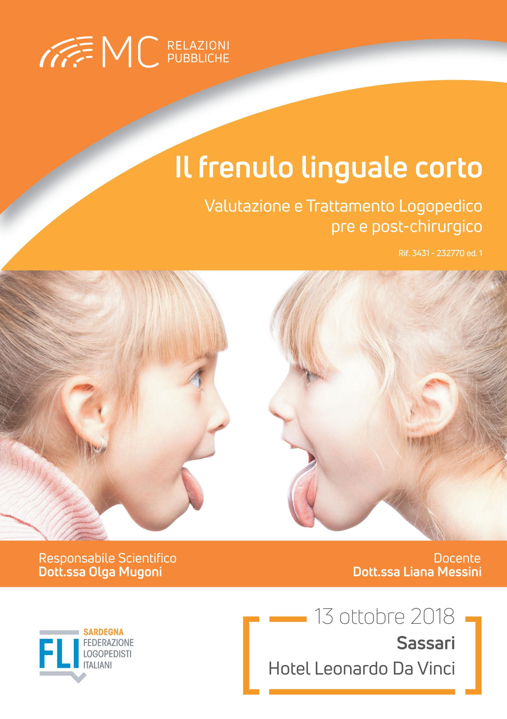 IL FRENULO LINGUALE CORTO - Valutazione e Trattamento Logopedico pre e post-chirurgico