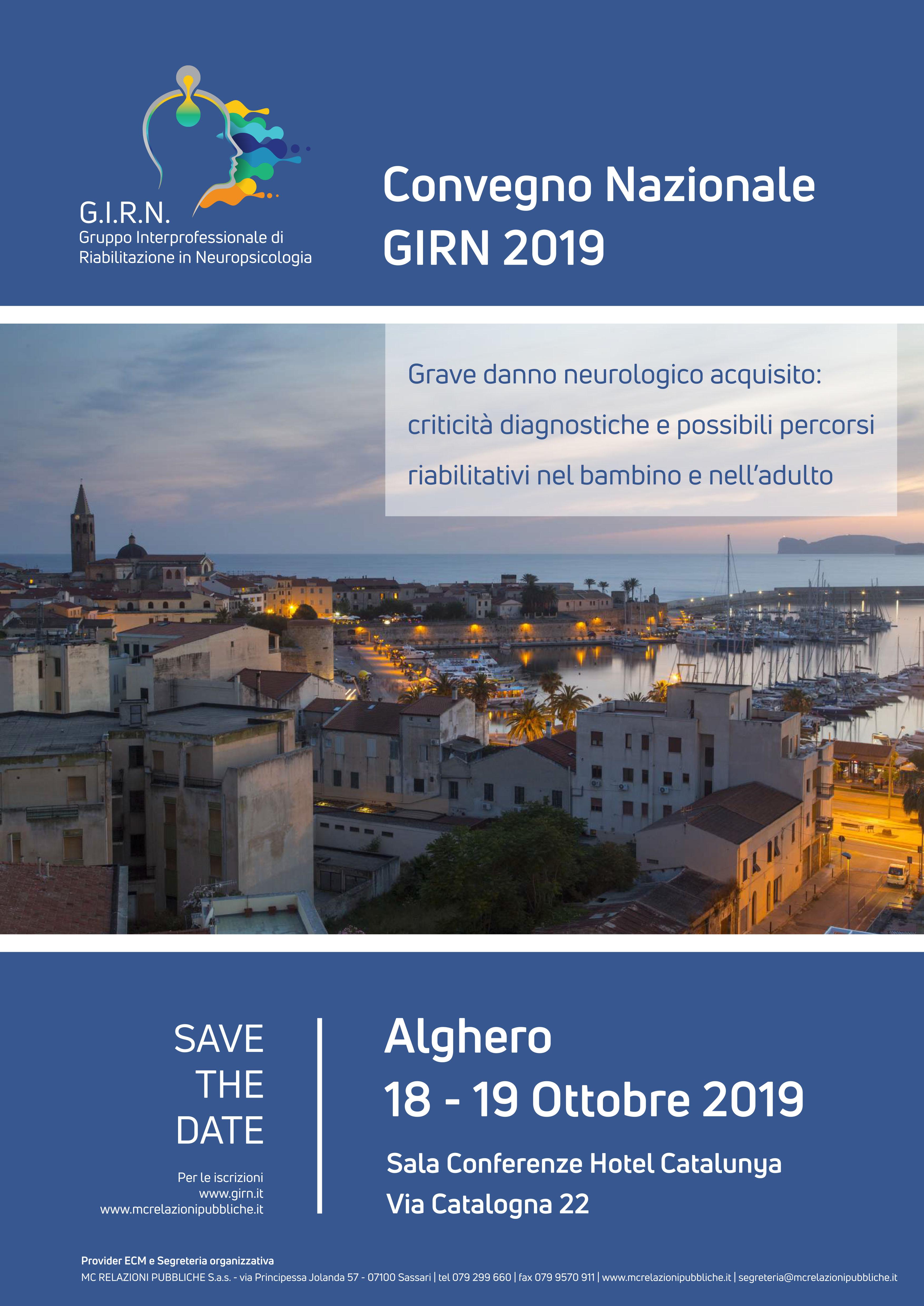 Convegno Nazionale GIRN 2019