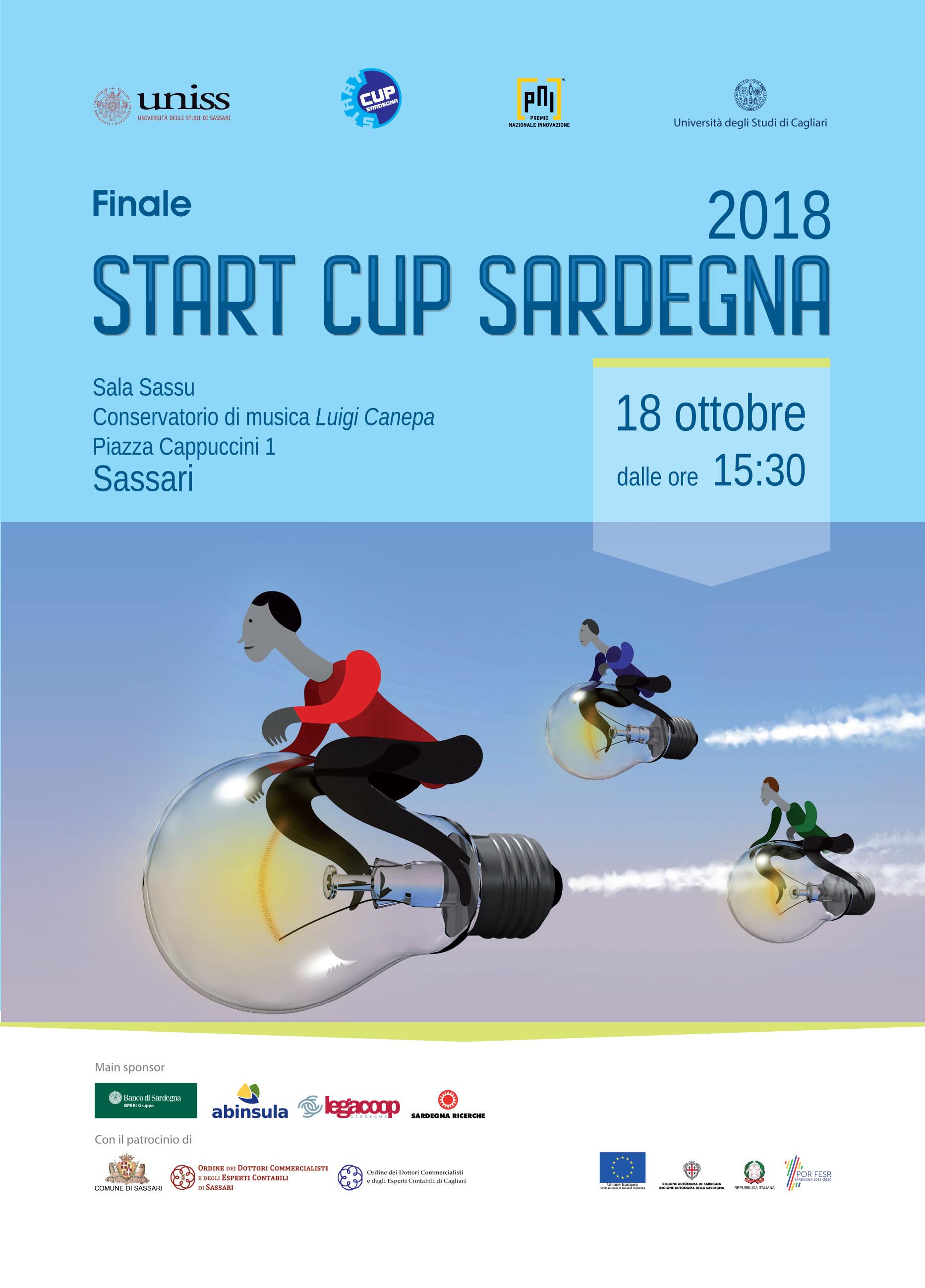 """Finale """"Start Cup Sardegna 2018"""""""