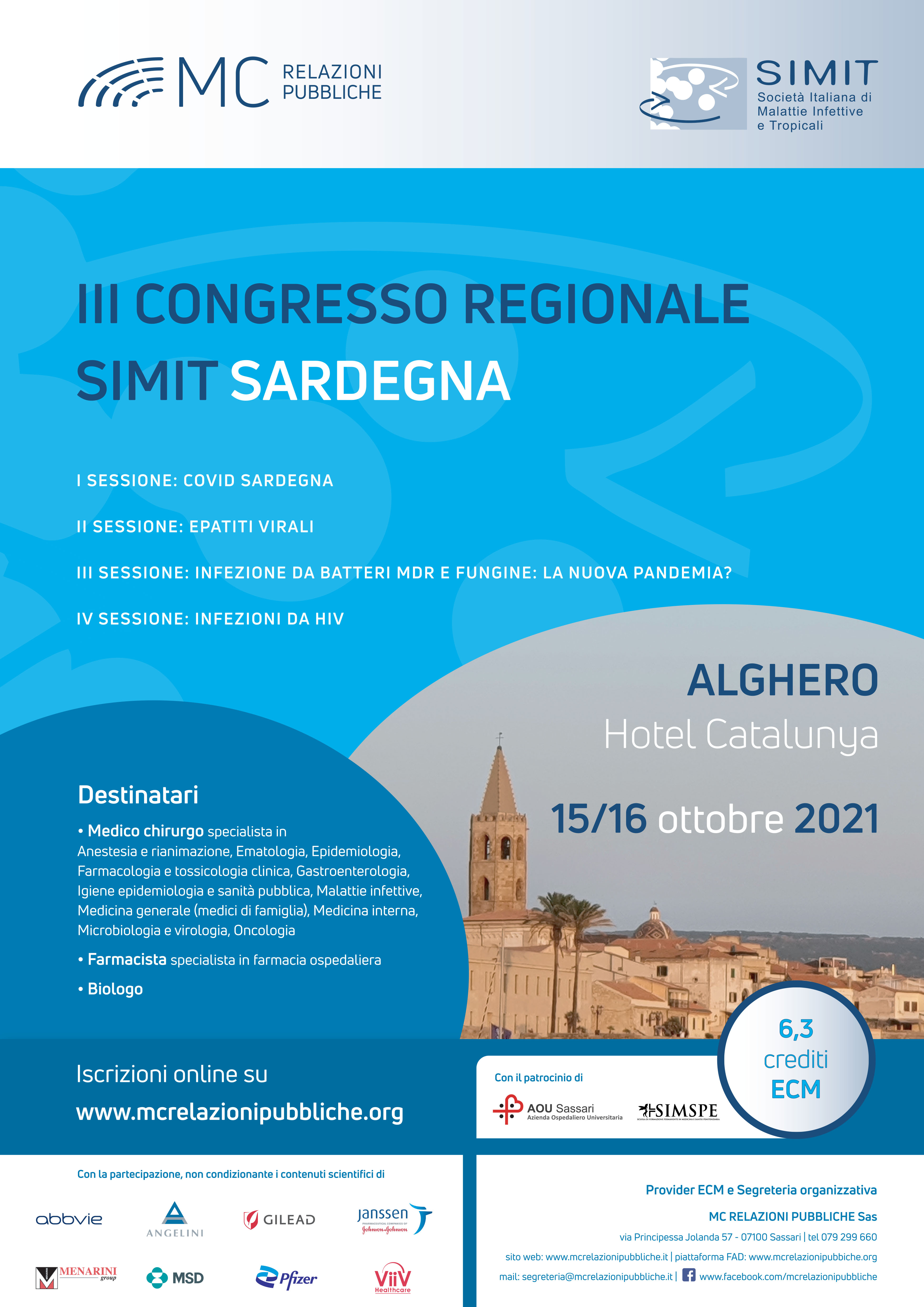 III Congresso Regionale SIMIT Sardegna